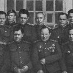 И. Н. Руссиянов с офицерами