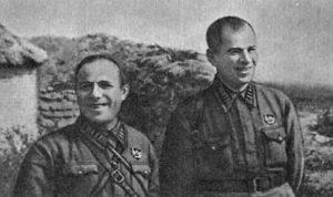 И. П. Кузенный и Е. С. Кривошея
