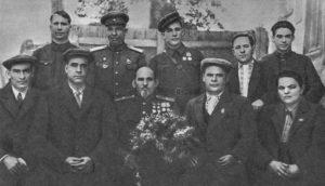 С. А. Ковпак с группой партизан