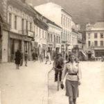 Во время победного марша из Вены на Родину. Румыния, г. Бакэу, июль 1945 г.