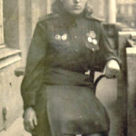 Медсестра медсанбата И. Богачева 27 мая 1954 г. Вена