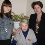 декабрь 2009, Т. Н. Чернобоева со студентами пединститута