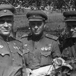 Гвардии полковник Филяшкин К. И. 1943 г.
