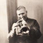 Был первой трубой, так же играл на клорнете. Была у него и редкая серебряная труба (в основном их делают из меди и латуни, должна храниться в семье среднего сына)