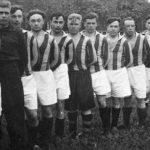 Футбольная команда 1-го Гвардейского механизированного корпуса. 1945 г. Австрия