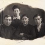 Захаров П. И. крайний слева.